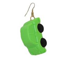 Örhänge Bil George, grön