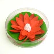 Lotusblomma för Badet, röd