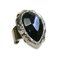 Ring, Deluxe Black Pear