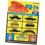 Stylish Mustaches- set