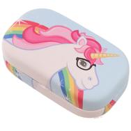Piilolasikotelo Unicorn, pinkki