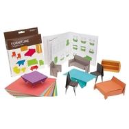 Origami, Huonekaluja
