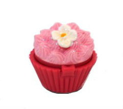 Huulirasva Cupcake, kukka