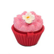 Läppbalsam Cupcake, blomma