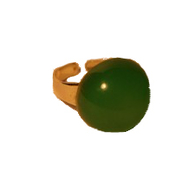 Ring, Retro liten grön