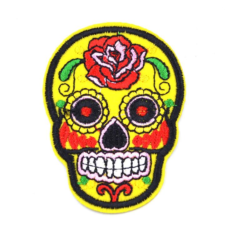 Kangasmerkki, Sugar Skull keltainen