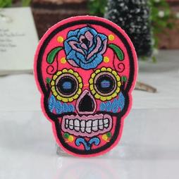 Kangasmerkki, Sugar Skull neonpinkki