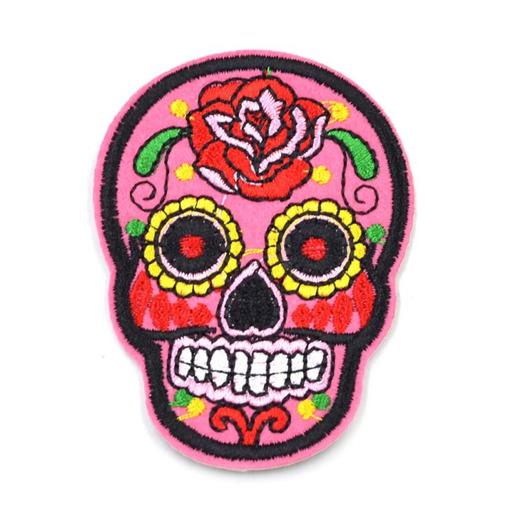 Kangasmerkki, Sugar Skull pinkki
